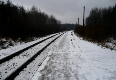 dp.uz.gov.ua: Рух поїздів через ст.Воскобійня відновлено в повному обсязі