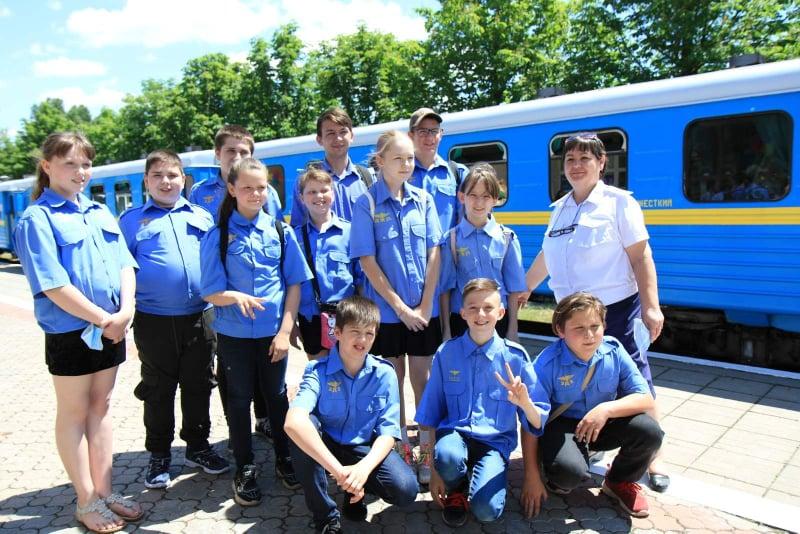 dp.uz.gov.ua: На Запорізькій дитячій залізниці відкрили рух поїздів