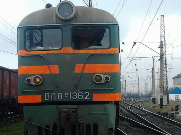 dp.uz.gov.ua: На Придніпровській залізниці машиніст електровоза був травмований унаслідок хуліганської витівки невідомих осіб