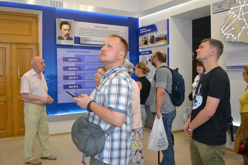 dp.uz.gov.ua: Музей історії Придніпровської залізниці відвідали музейні працівники з м. Дніпра