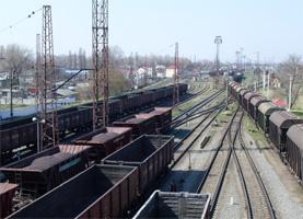 dp.uz.gov.ua: У квітні  залізниця перевезла близько 10 млн тонн вантажів