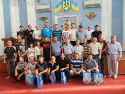 dp.uz.gov.ua: Спортсмени, що представлятимуть залізницю на VII відомчій Спартакіаді, отримали нову форму