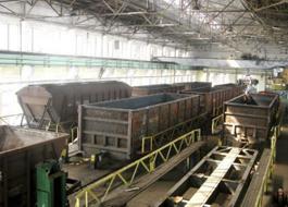 dp.uz.gov.ua: У липні 2012 року залізниця відремонтувала 580 піввагонів