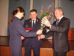 dp.uz.gov.ua: Залізничники отримали нагороди до 21-ї річниці Укрзалізниці